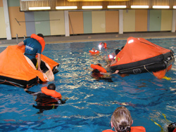 sea survival cursus